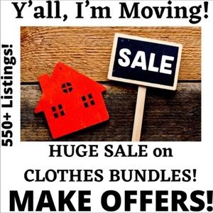 IM MOVING! Help! Accepting All Reasonable Offers!